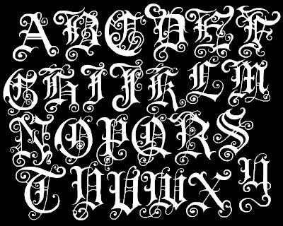 Free Graffiti Alphabet