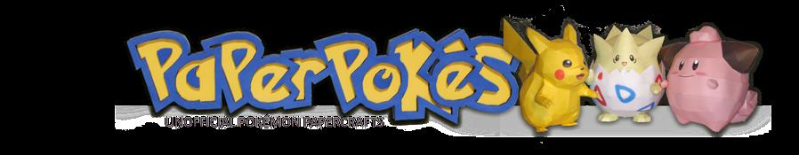 Paperpokés- Pokémon Papercrafts