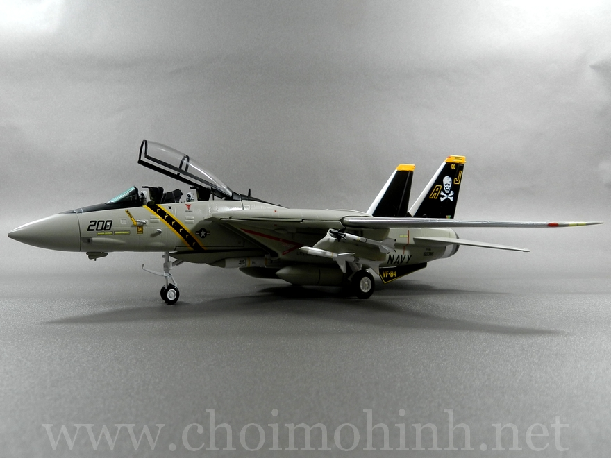 F-14A Tomcat US Navy Jolly Rogers 1:72 Witty Wings side