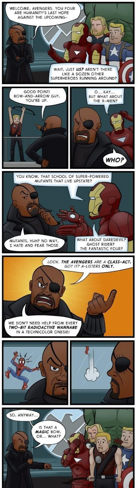 Problem From The Avengers Movie