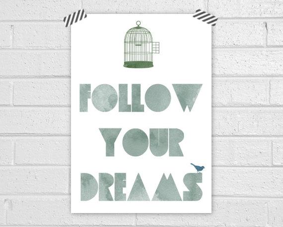Dreams Print by Vapor Qualquer