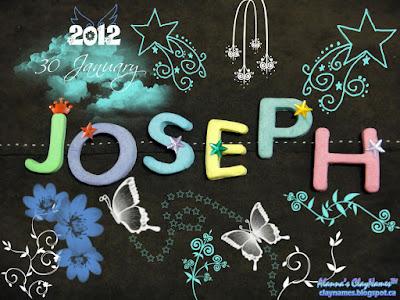 Joseph January 30 2012
