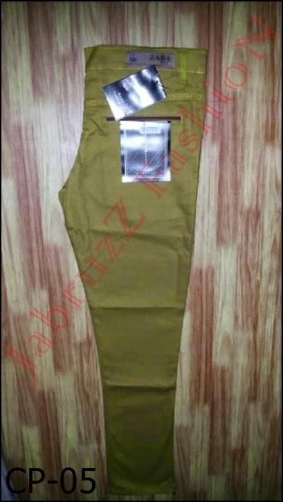 Celana Chino Pria Panjang Eksklusif