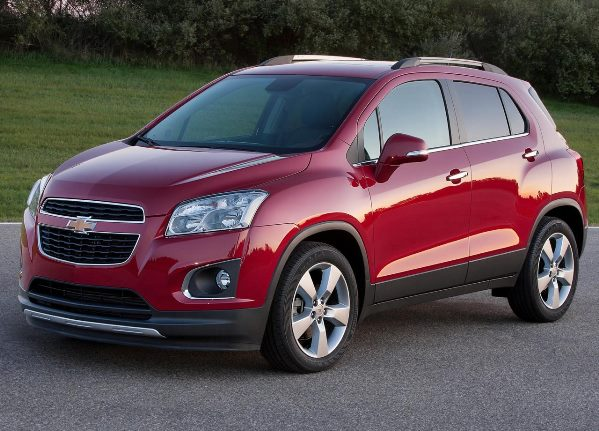 car in Chevrolet Trax 2014