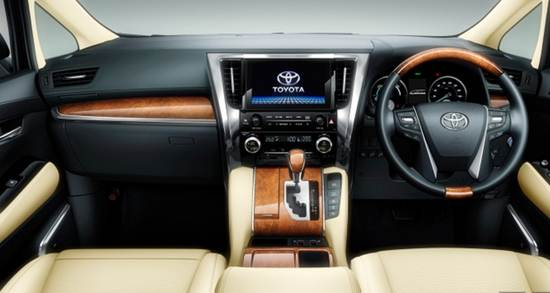 2015 Toyota Alphard And