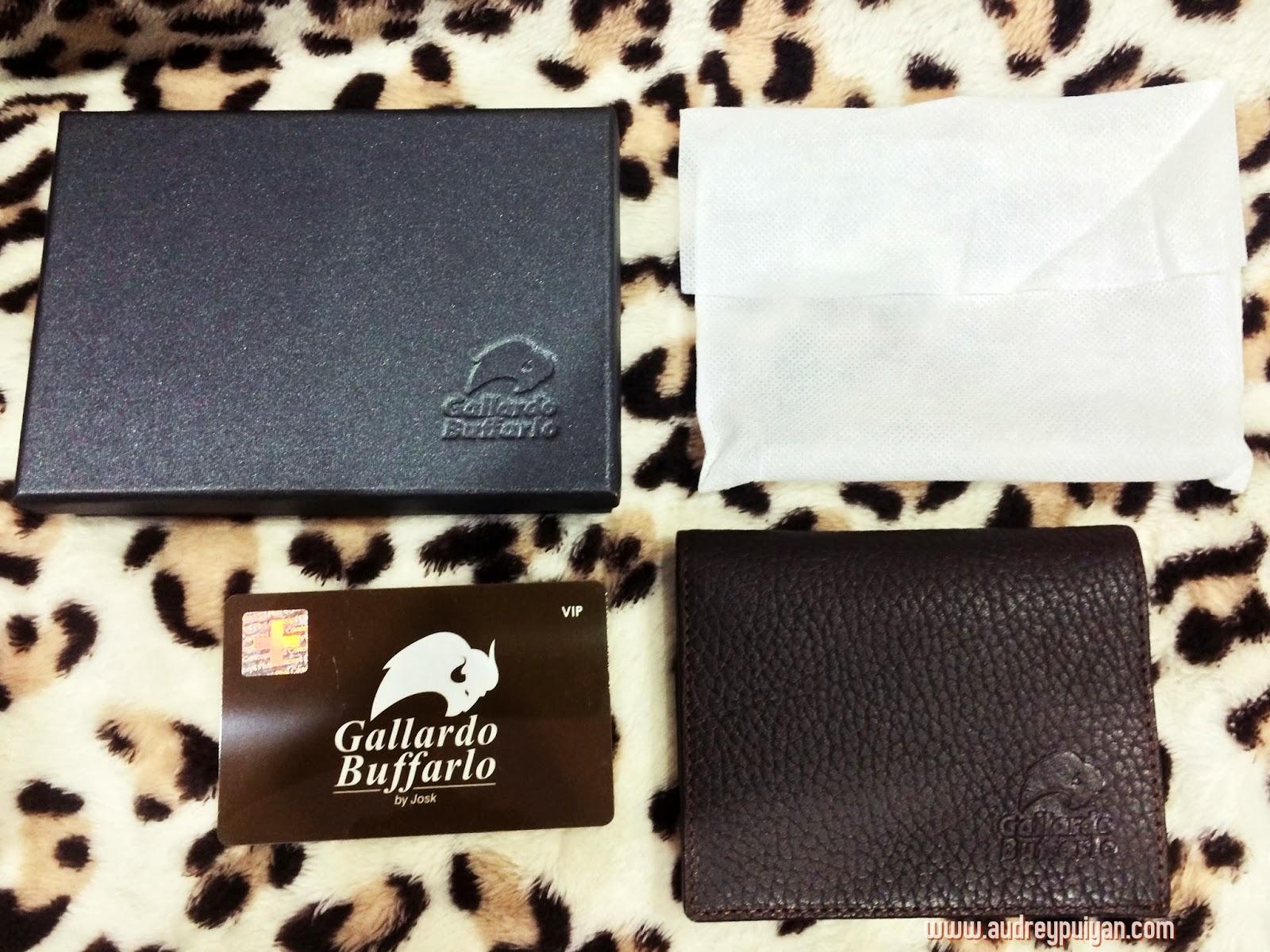 [ GIVEAWAY ] Gallardo Buffarlo  - Genuine Leather Wallet