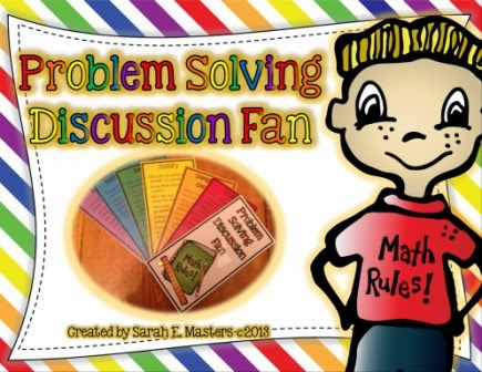 http://www.teacherspayteachers.com/Product/Problem-Solving-Discussion-Fan-Math-Problem-Solving-1074822