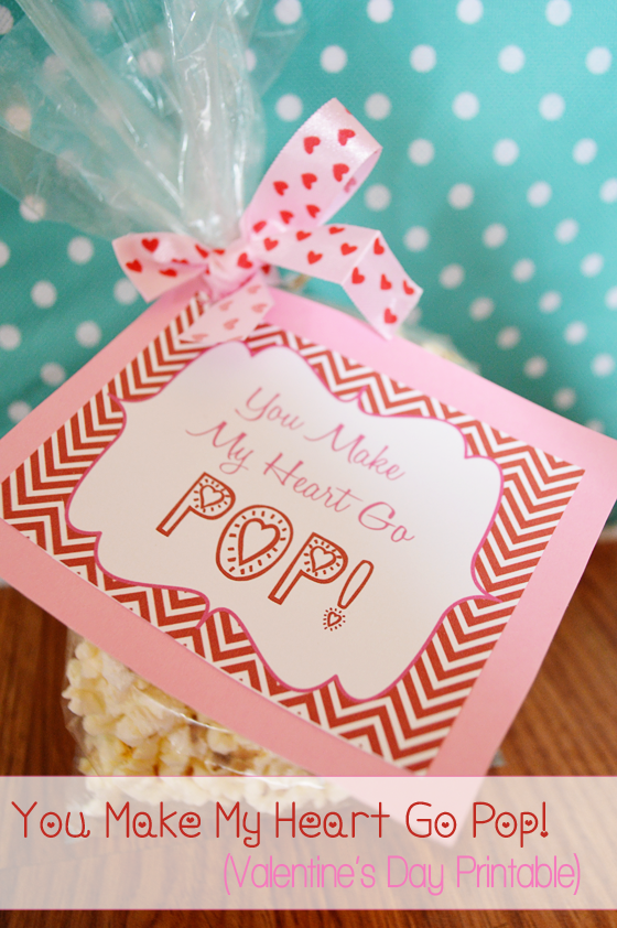 Handy image within you make my heart pop valentine printable