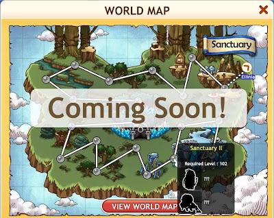 MapleStory Adventures - World Map 3