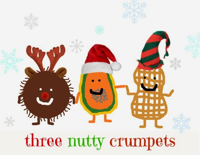 Three Nutty Crumpets