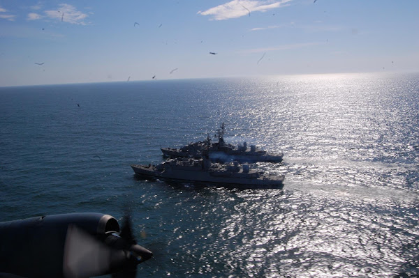 La EA6E en Mar del Plata