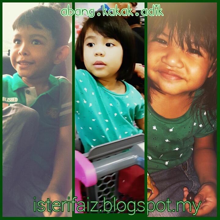Mommy Abg+Kakak+Adik