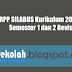 RPP SILABUS Kurikulum 2013 Kelas I Semester 1 dan 2 Revisi 2016