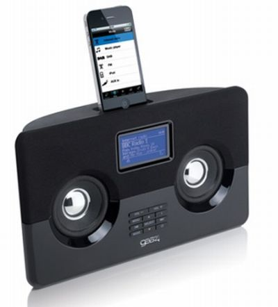 Gear4 HouseParty AirWave iPhone/iPod dock Internet Radio