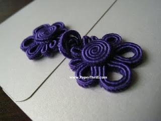 Dainty asian knots wedding cards