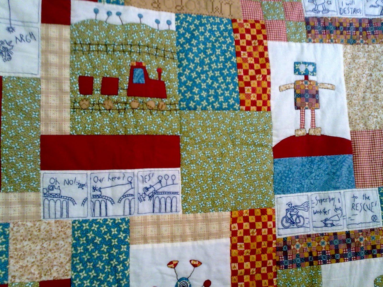 Colcha infantil de patchwork imagui - Colchas patchwork infantiles ...