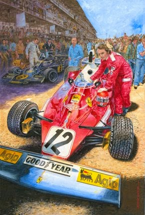 Nikki Lauda - Ferrari 312 T