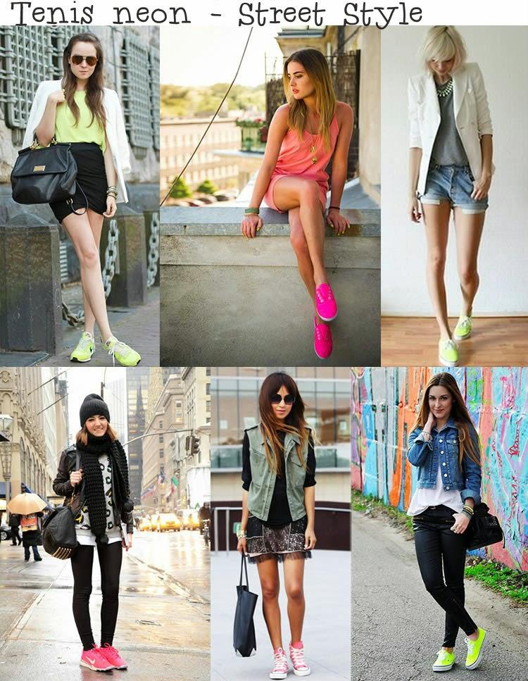 Street Style Look com Tênis