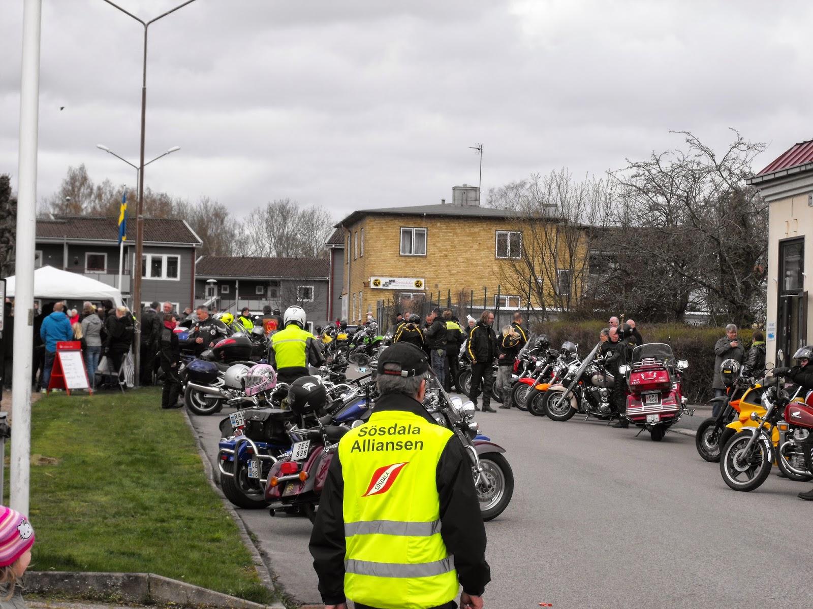 Vårmarknad i Sösdala, Sösdala, vårmarknad, marknad, Lille Mads rally, motorcyklar, Sösdala Alliansen