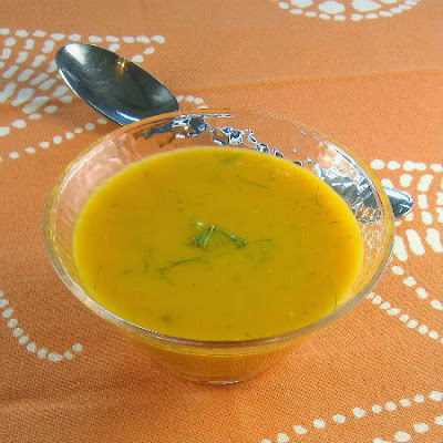 One Perfect Bite: Carrot and Fennel Soup - Away A While Recipe ...