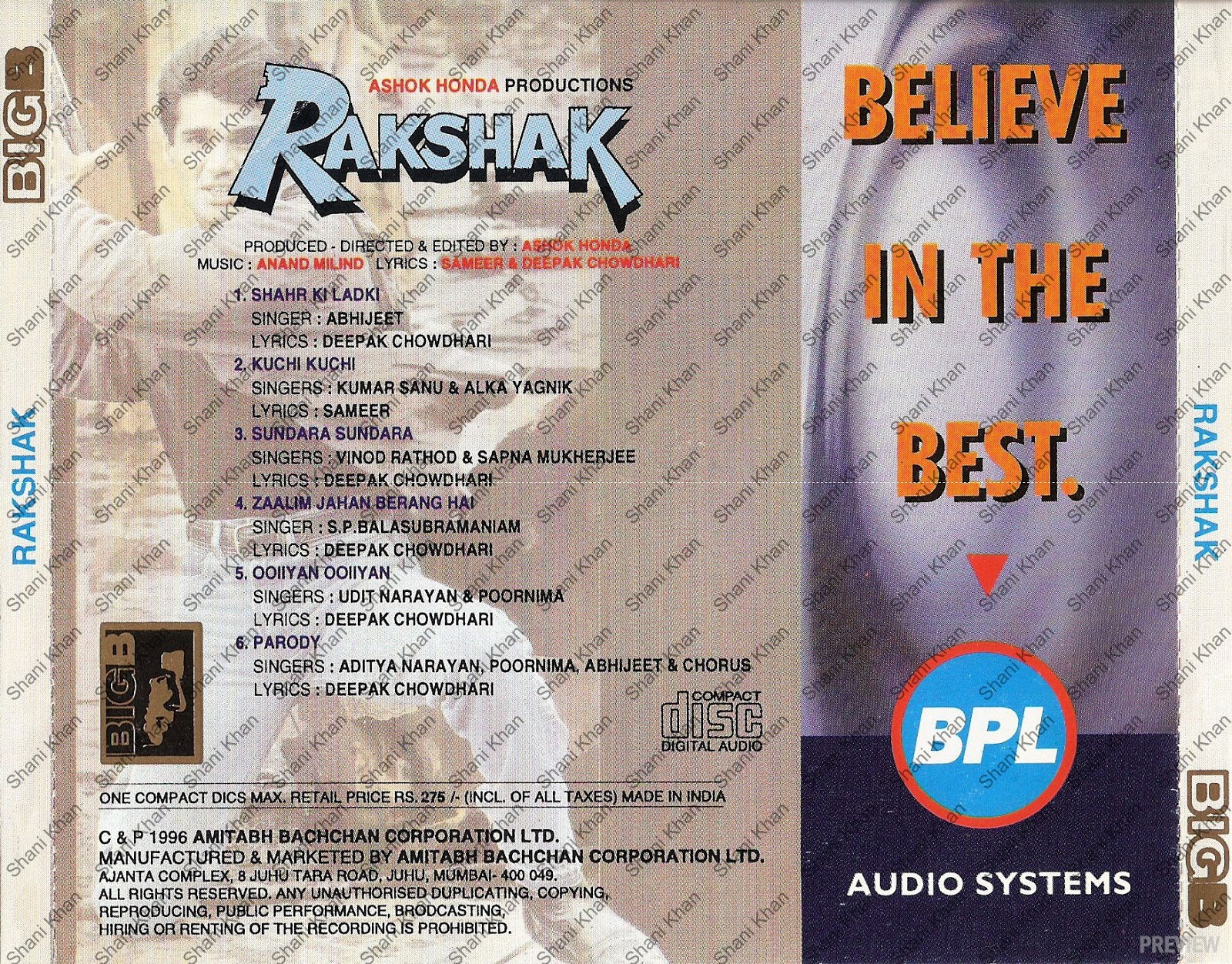 Rakshak 1996 Mp3 Songs Supercross 2005 Movie Download