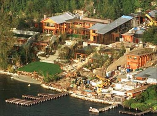 bill gates house a million dollar home thought