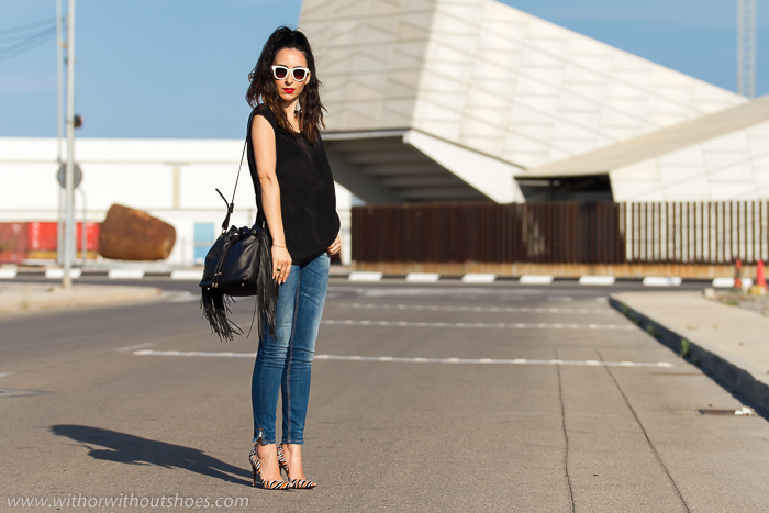 Bloguera valenciana de moda con estilo urbano chic