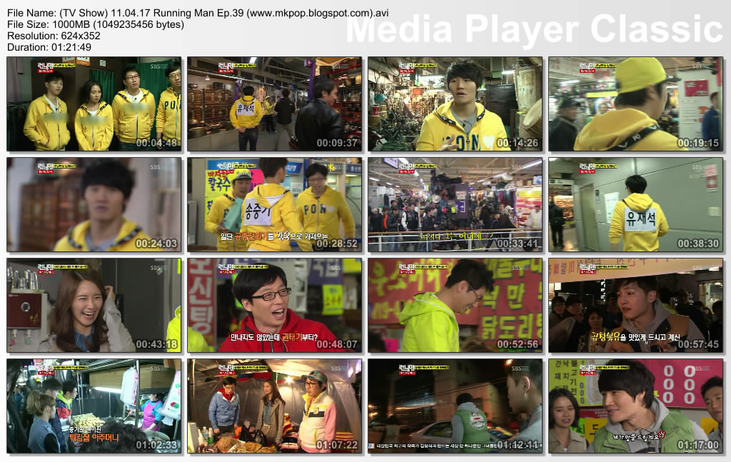 ... Music: (TV Show) Running Man 11.04.17 Ep.39 (Torrent & Mediafire