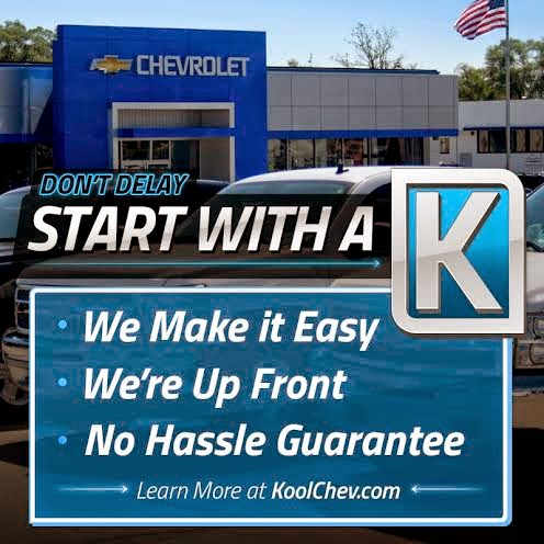Start With A K at Kool Chevrolet