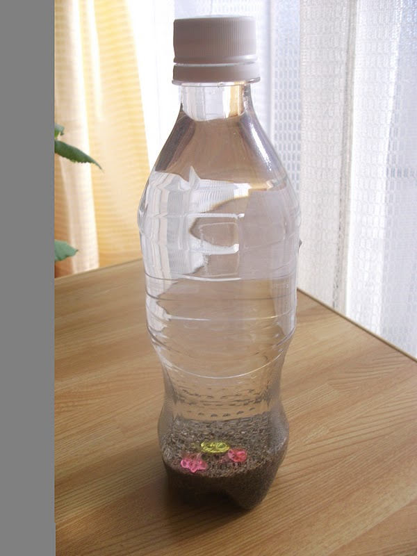 Easy Sand Bottle Craft
