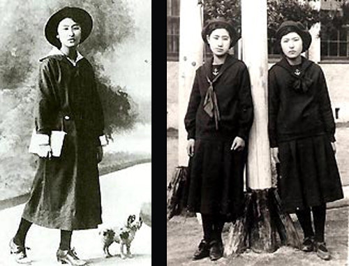 Ada ülkesi Japonya'da okul üniformaları