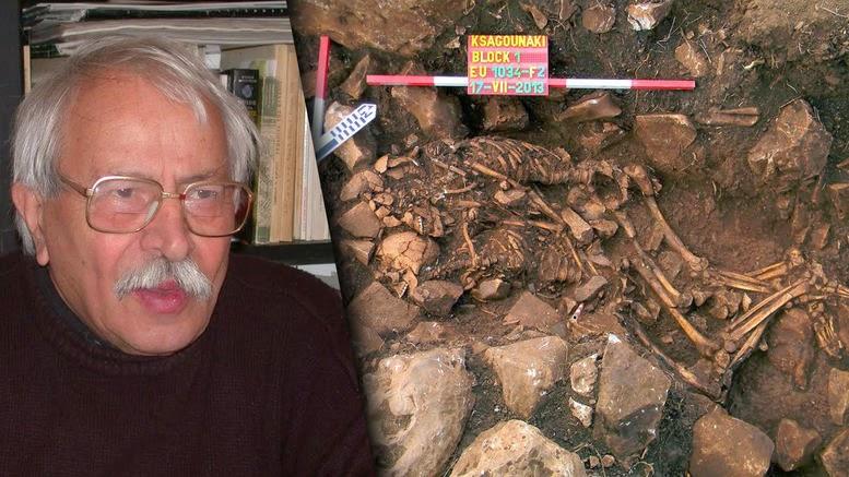 Ο αρχαιολόγος που ανακάλυψε το «ζευγάρι του Διρού»