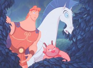 Hercules, Pegasus, Phil Hercules 1997 animatedfilmreviews.filminspector.com