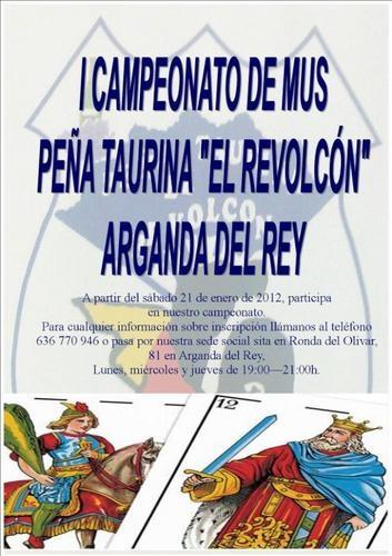 I campeonato de mus pe a taurina el revolcon en arganda - Azulejos pena arganda del rey ...