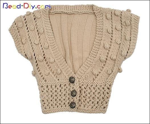 Hermosa convinacion de crochet con palillos