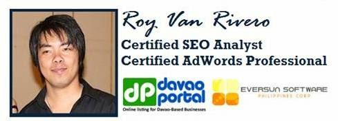 Integrated Comprehensive SEO Training (Speaker Roy Van Rivero)
