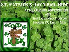 St. Patrick's Day Trail Ride'