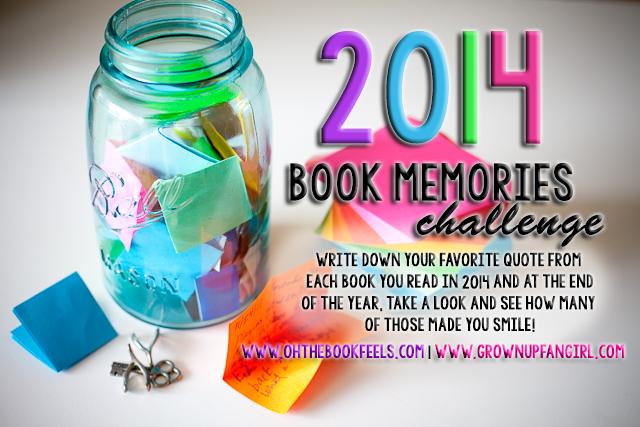 Book Memories Challenge!