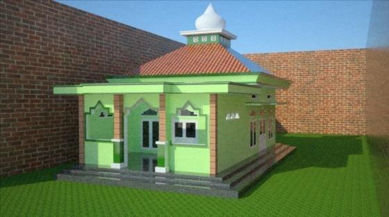 In Disain Masjid dan Mushola Minimalis