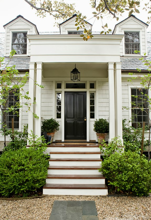 A classic home b a s blog for Classic house fronts