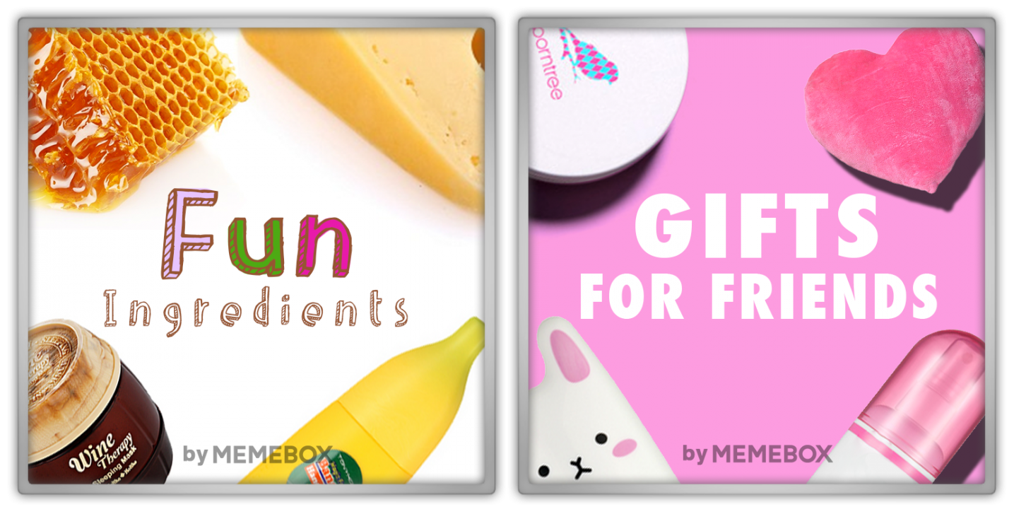 Memebox Gifts for Friends Fun Ingredients 2015 미미박스 Commercial