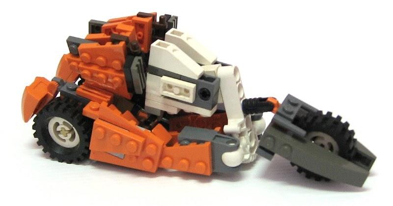 how to build raptor lego transformer