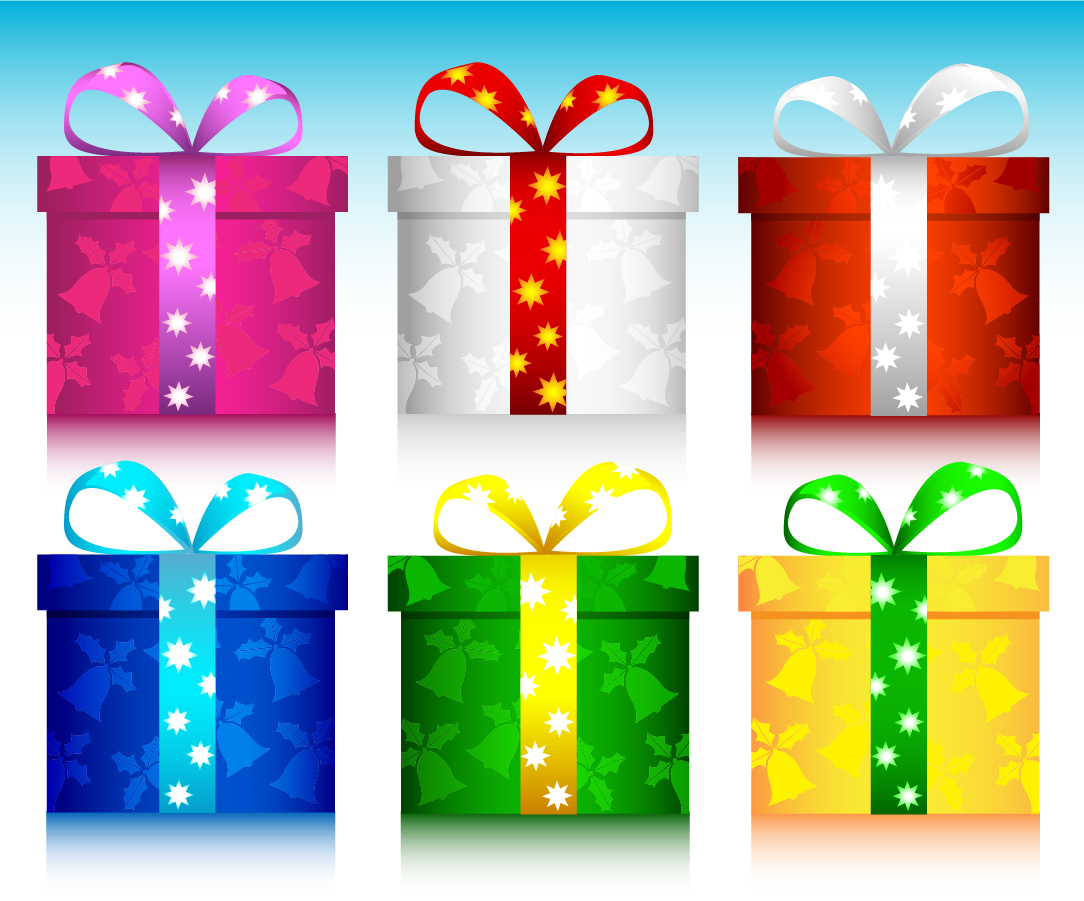 Free vector christmas gift from a woman negle Images