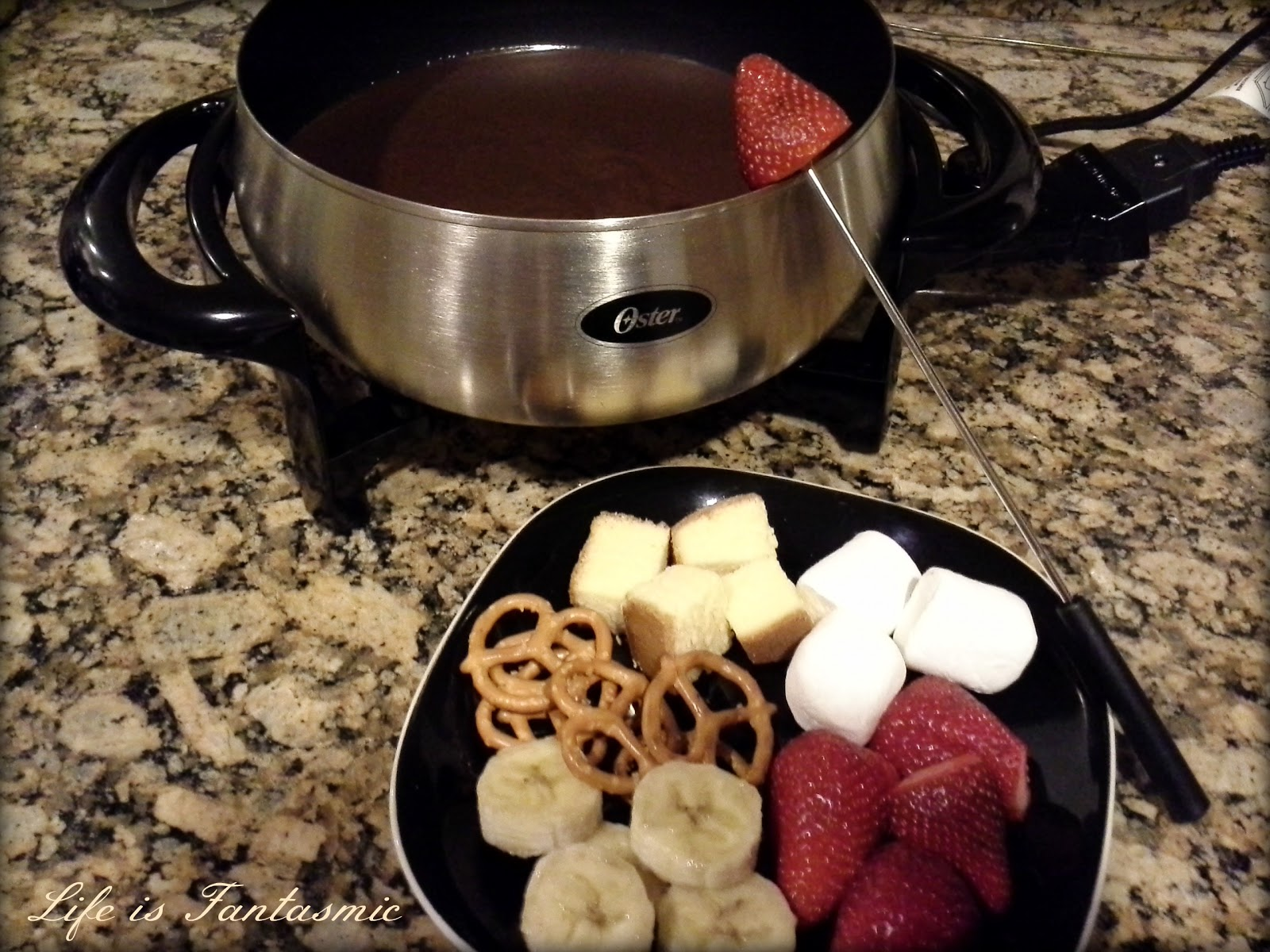 Life Is Fantasmic: Milk Chocolate Fondue