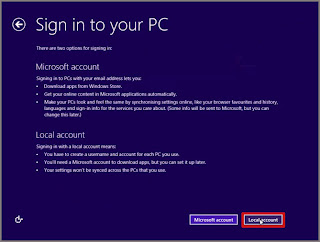 win 8 sign in