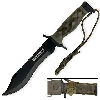 Spanish RECON Marine Commando SF Special Ops Forces Oso Combat Survival Knife