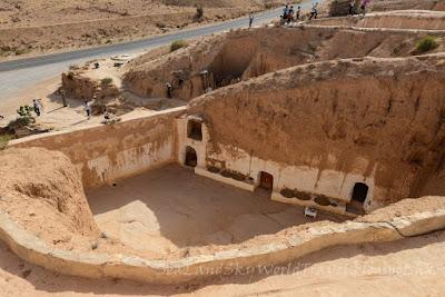 突尼西亞, tunisia, 星球大戰, 拍攝地, Matmata, 瑪特瑪它 , filming
