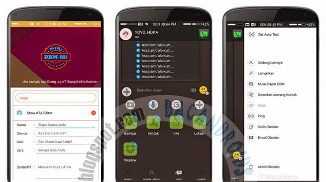 download Update BBM-MI Mod Fitur BOM Text Message Apk 2.7.0.23