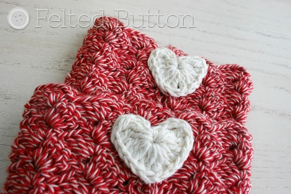 Felted Button - Colorful Crochet Patterns: I Heart Boot ...