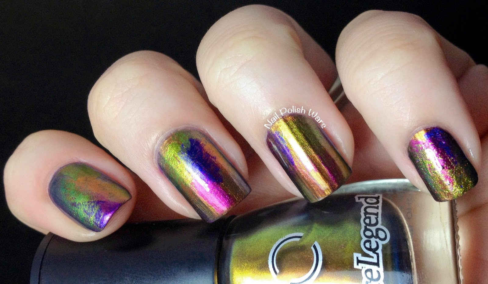 Nail Polish Wars: Oil Slick